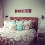 Beachy Bedding.