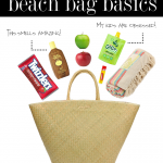 beach bag basics.