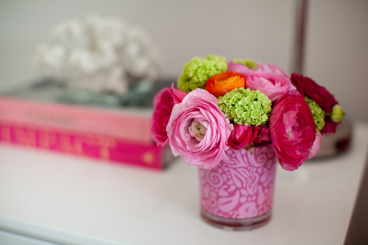 Bedside Table Flowers