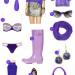 fashion friday:  purple reign.