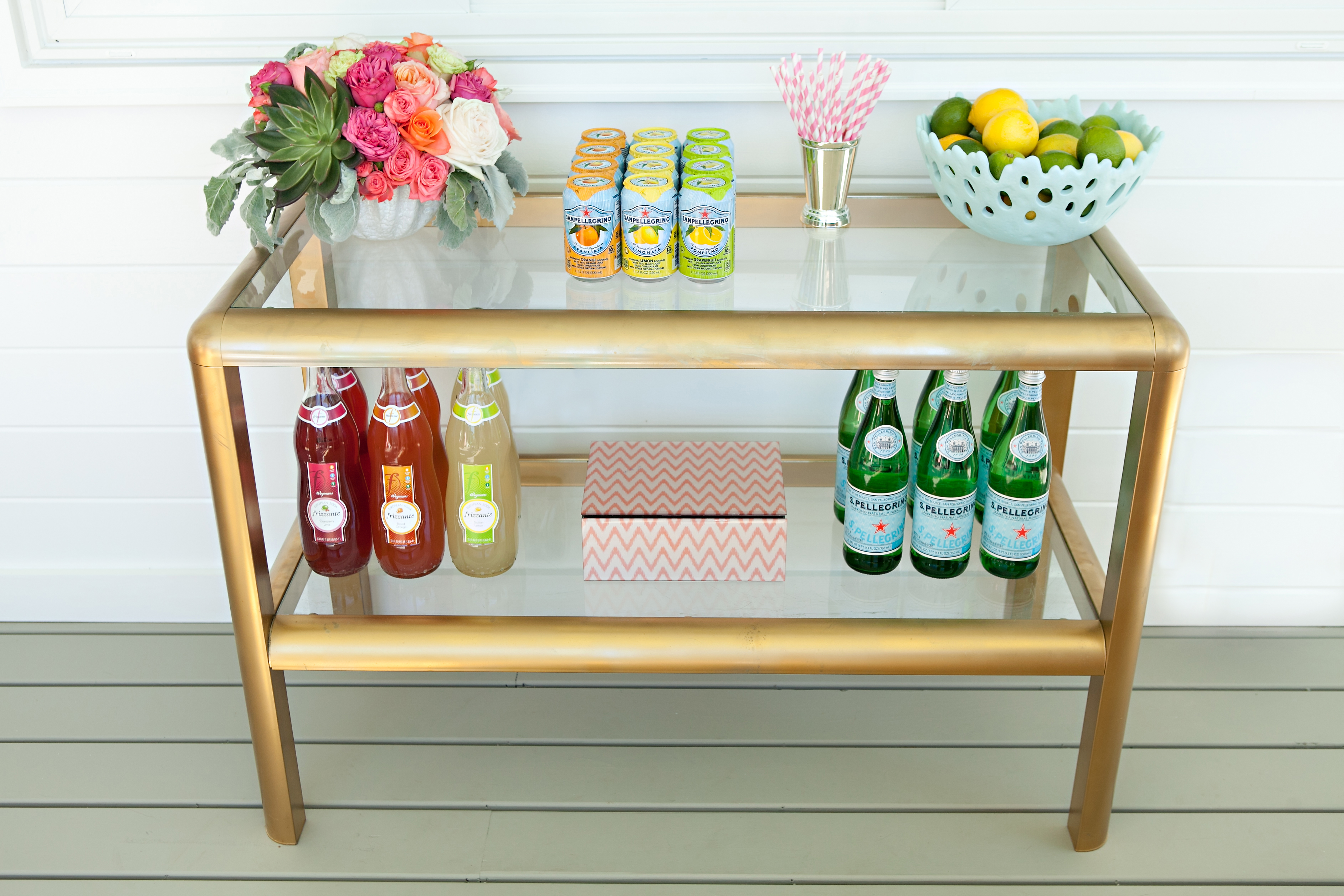 Bar Cart Setup