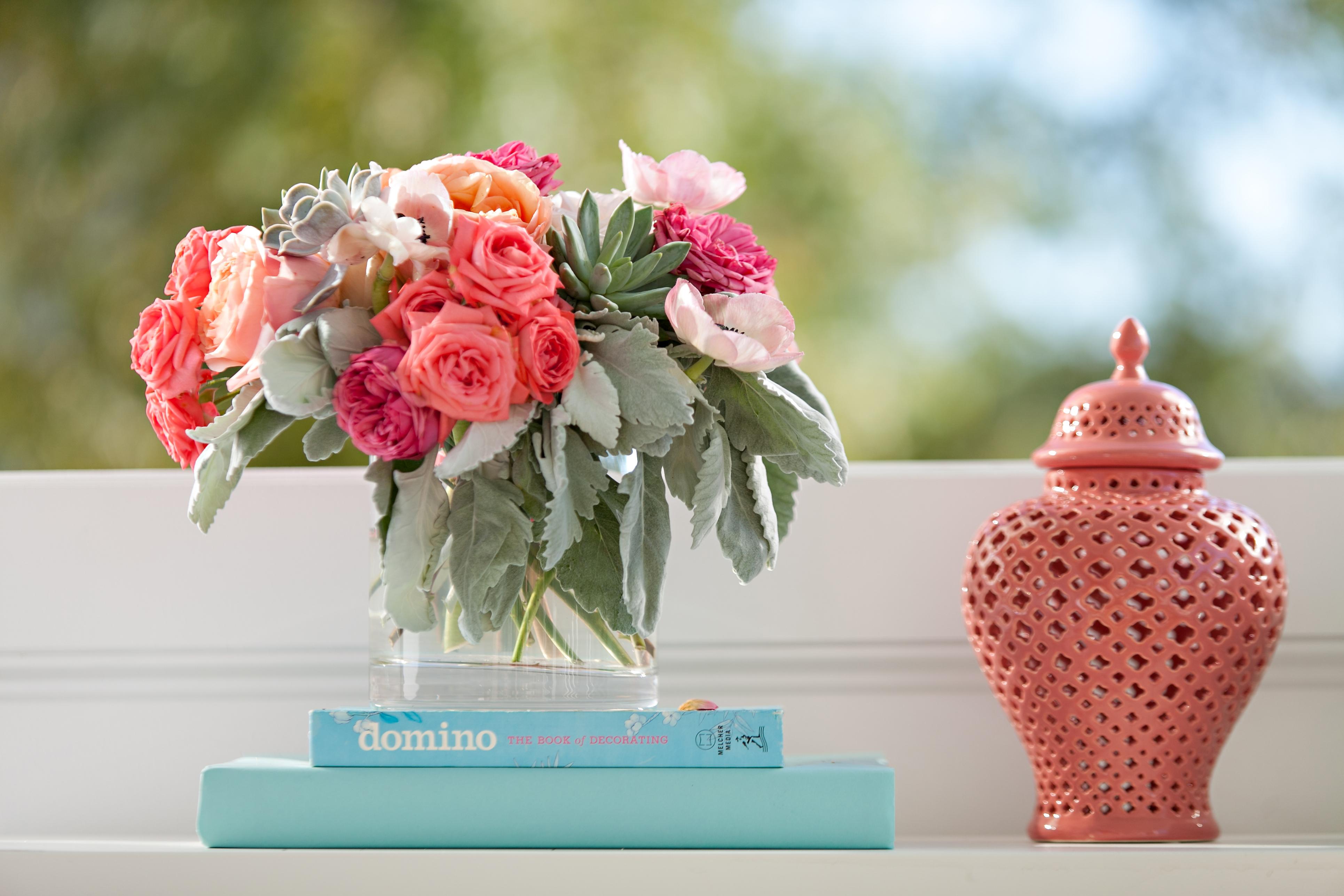 Florals, Tablescape