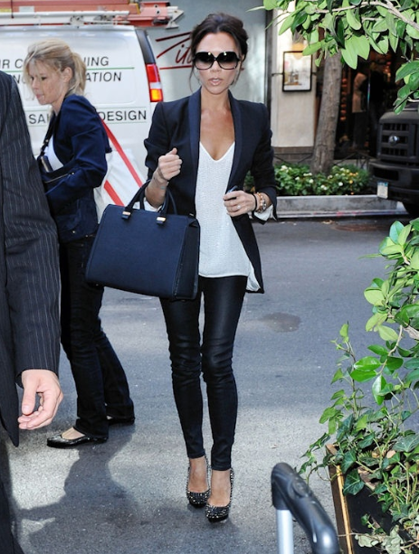 VB-leather leggings