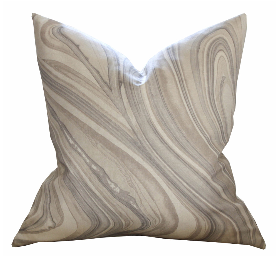 Kelly Wearstler Barcelo Pillow Cover in Taupe