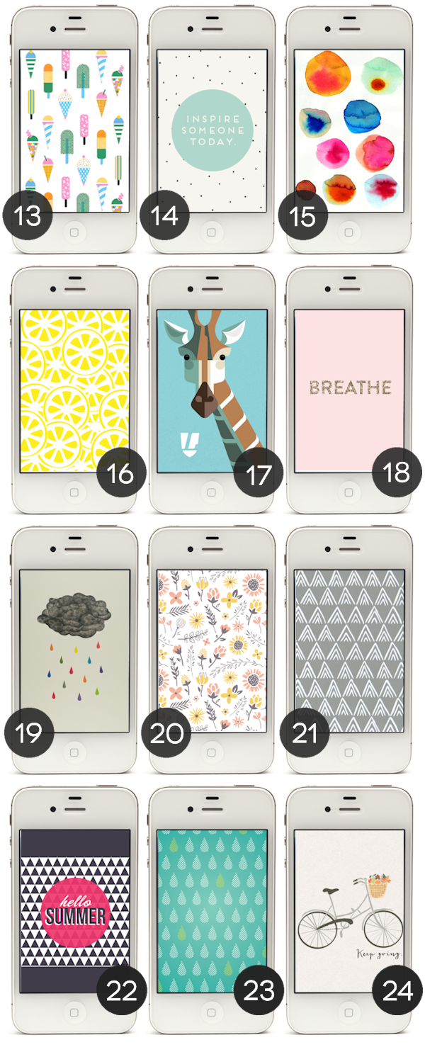 24 Free Graphic iPhone Wallpapers - Part 2