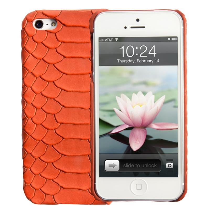 Gigi Orange iPhone Case