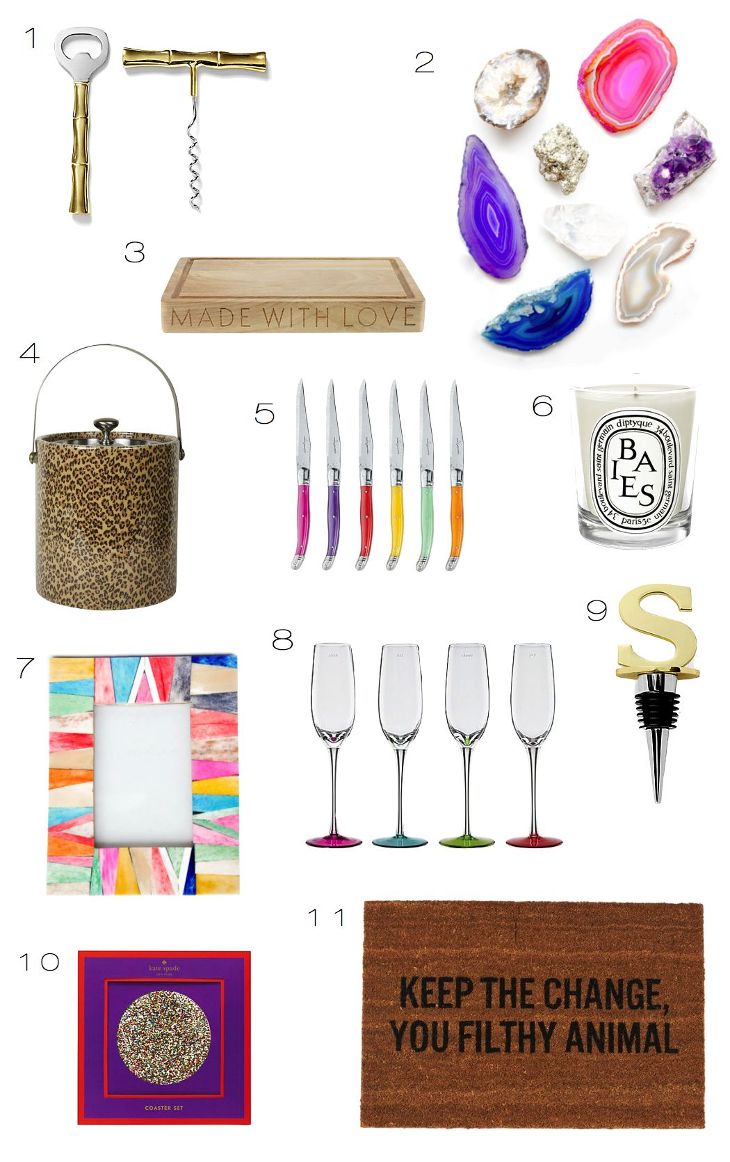 Hostess Gift Guide 2013 |  Kiki's List