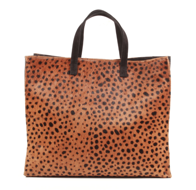 Cheetah Tote