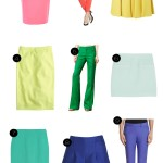 fashion friday: colored bottoms.
