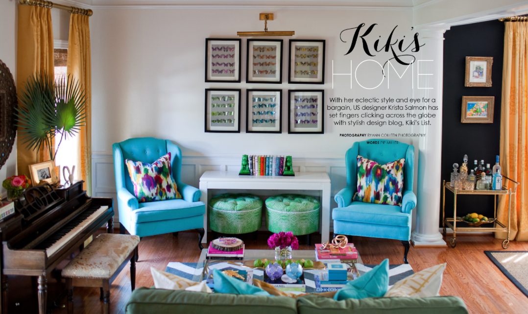 Adore Magazine  |  Kiki's List.