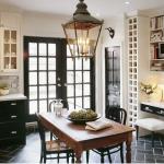 kitchens in black & white.