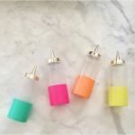 cutest little condiment bottles…