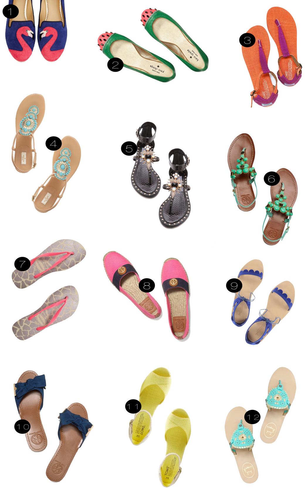 summer shoes  |  kiki's list.