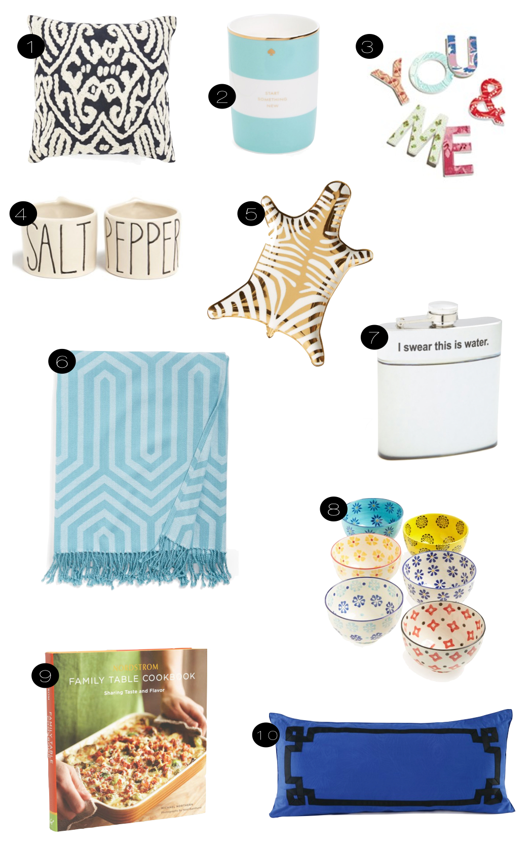 nordstrom home  |  kiki's list.