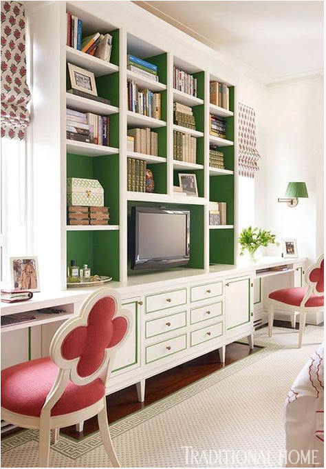 contrasting bookshelves  | kiki's list
