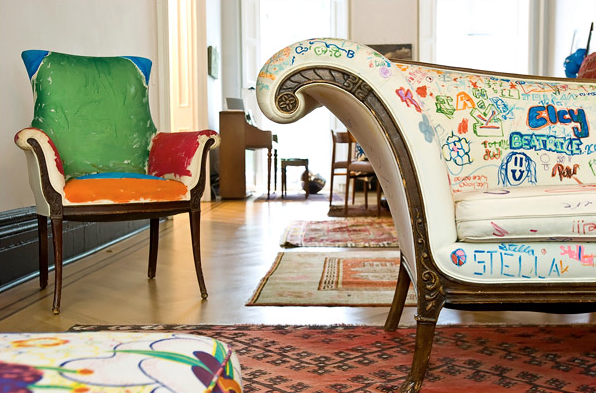 kid's graffiti furniture  |  kiki's list