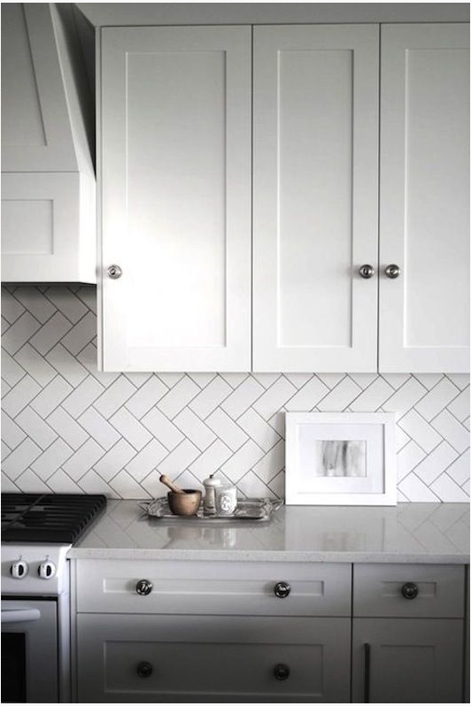 grey grout + herringbone  |  kiki's list