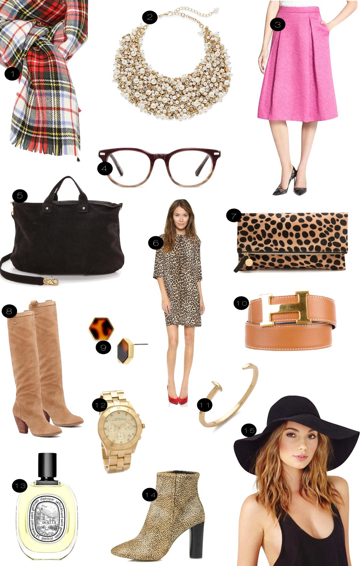 Fall Favorites  |  Kiki's List