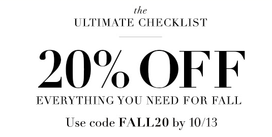 Piperlime Fall Sale  |  Kiki's List.