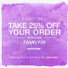 shopbop friends and family sale.