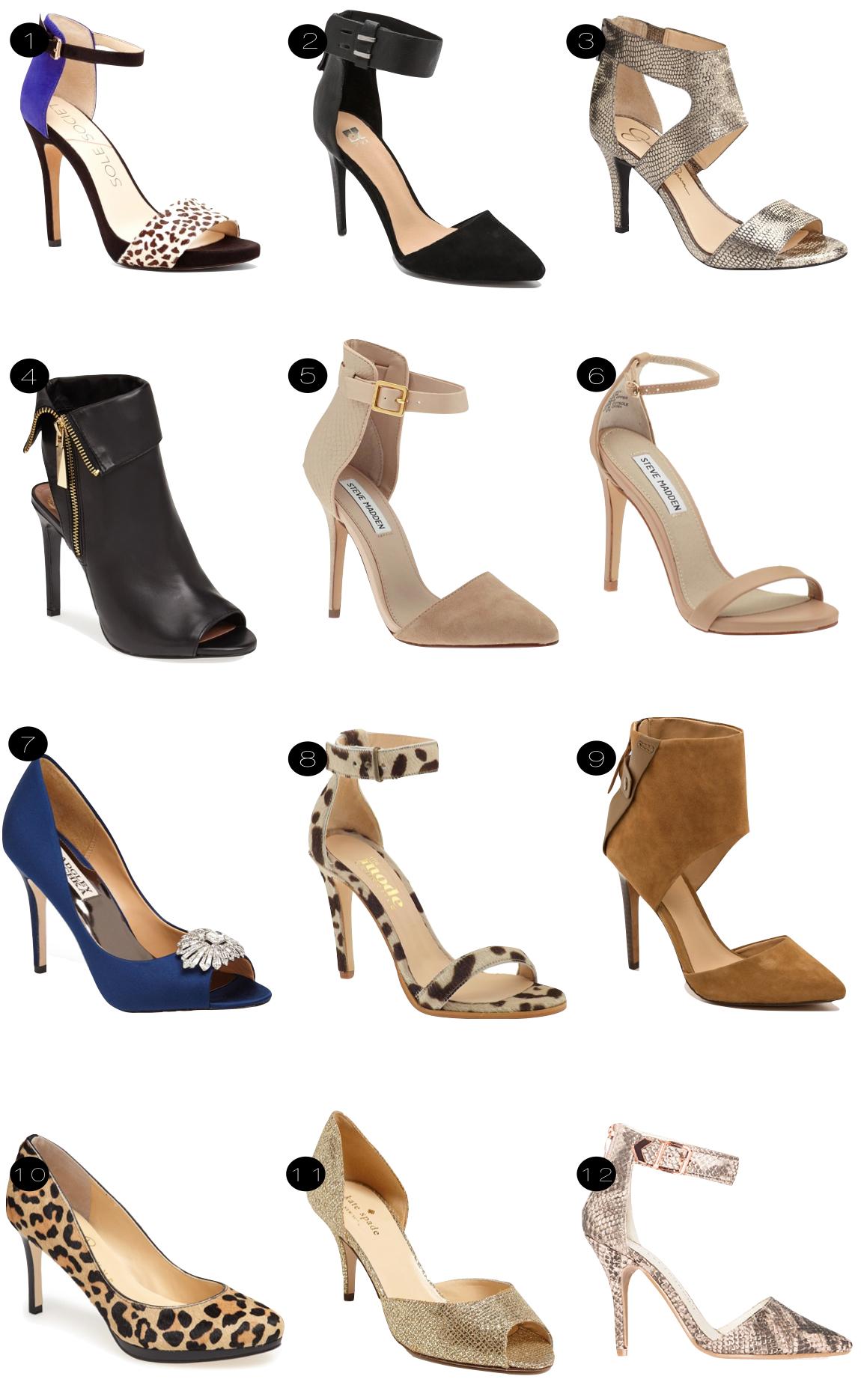 fall heels  |  kiki's list