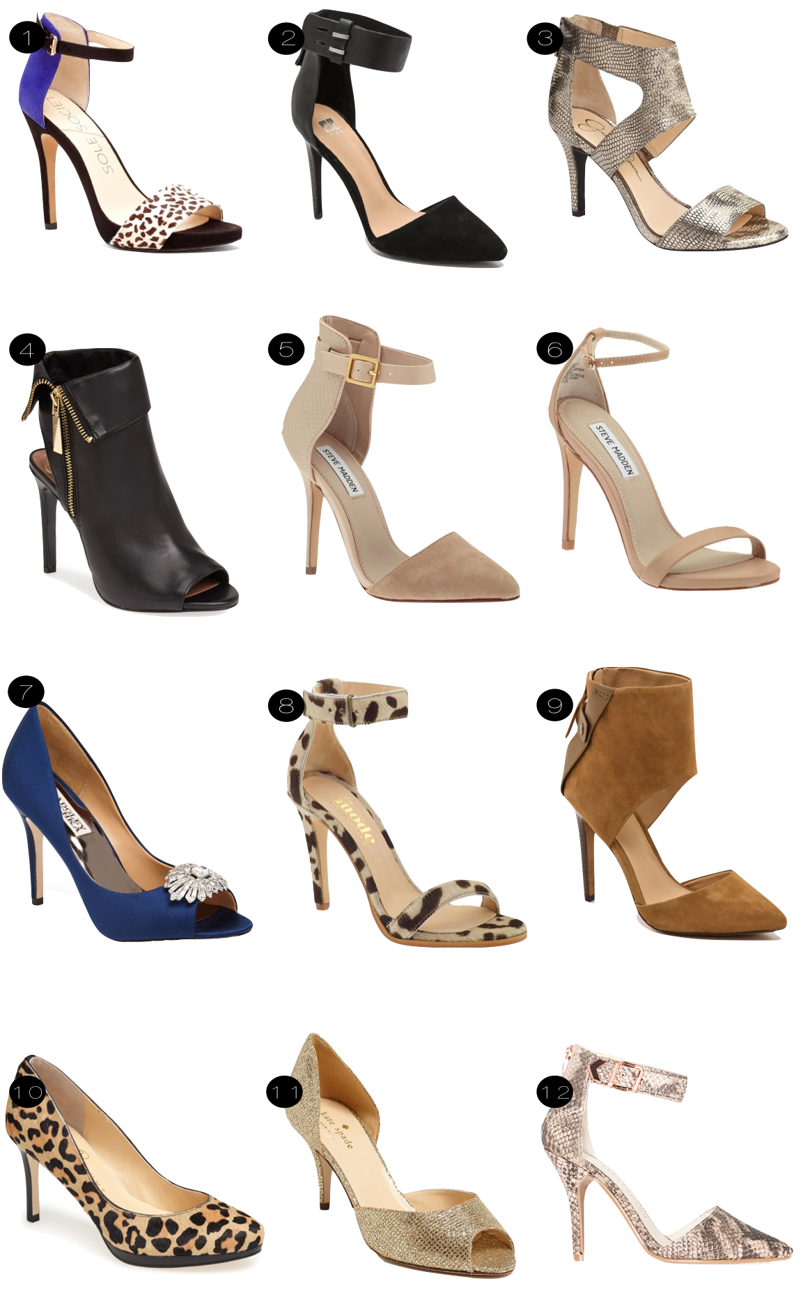 fall heels  |  kiki's list