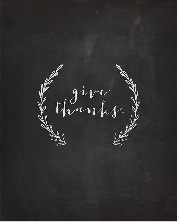 give thanks  |  kiki's list