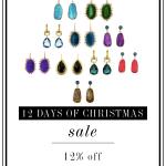 12 days of christmas sale.