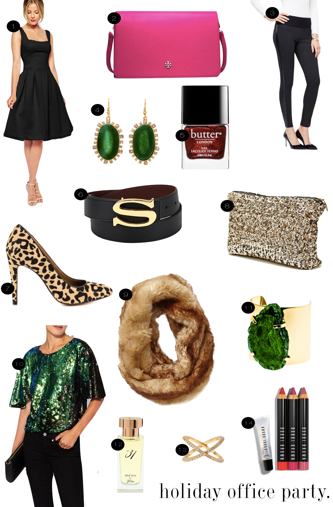 Holiday Office Party |  Kiki's List