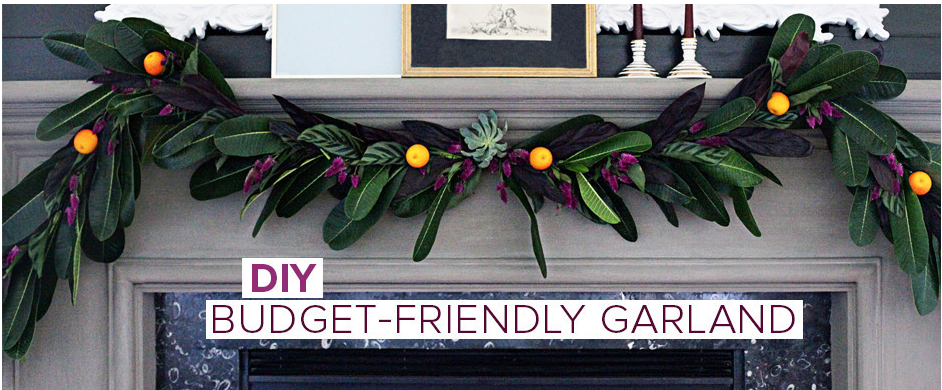 DIY Garland  |  Kiki's List.