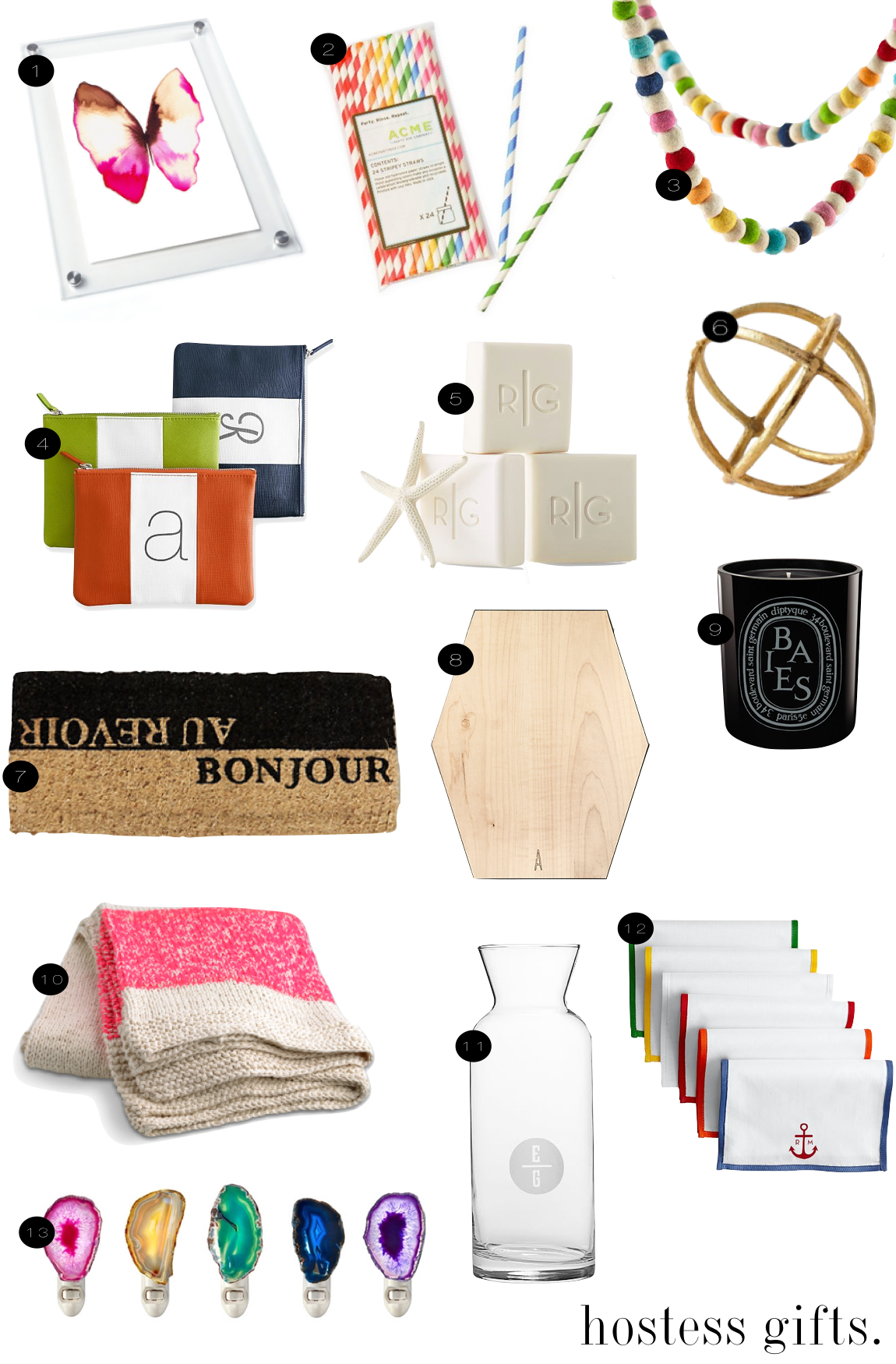 Holiday Hostess Gifts |  Kiki's List