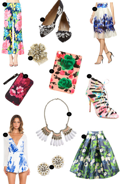 fashion friday:  spring blooms.