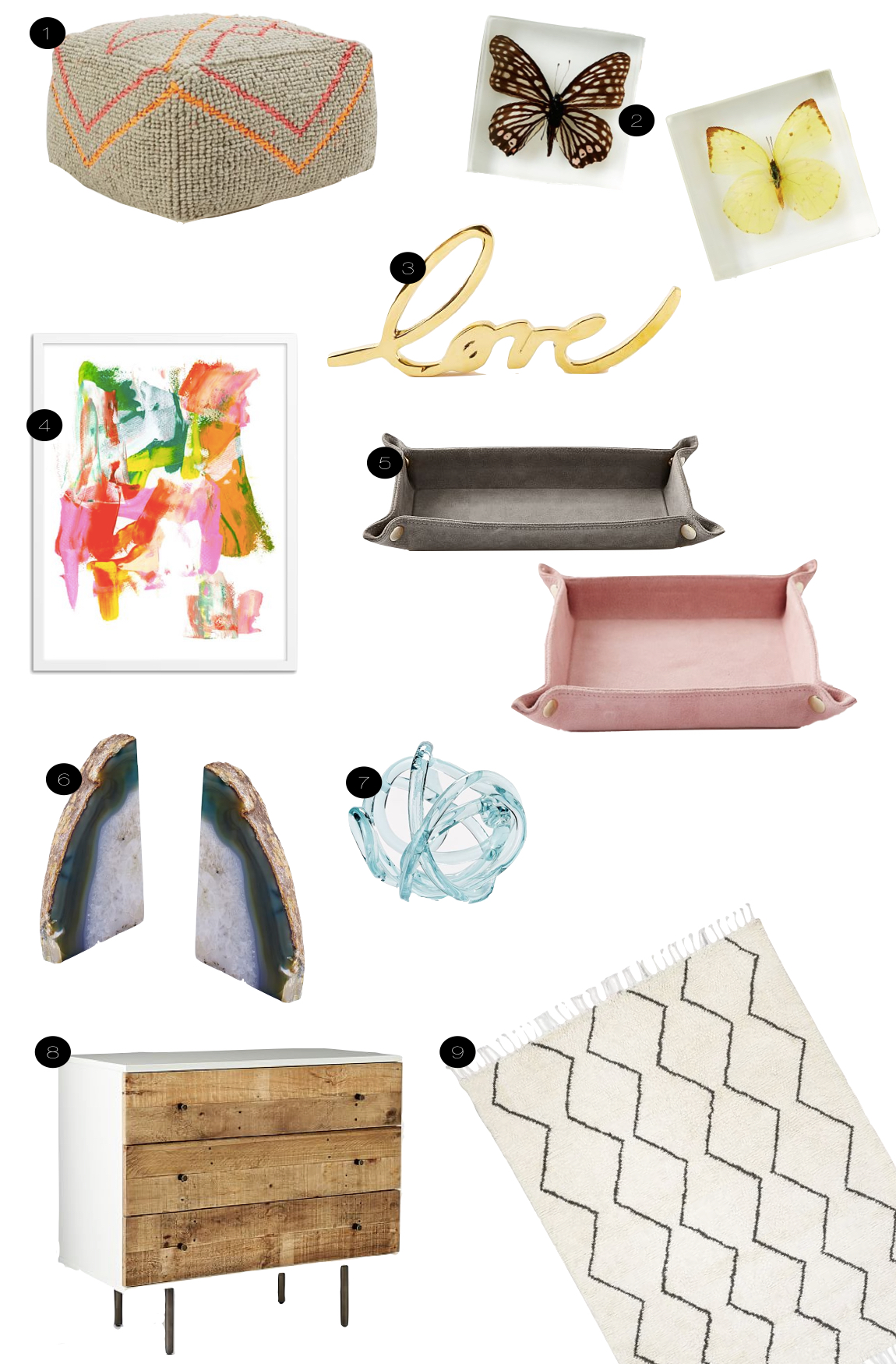 West Elm Faves  |  Kiki's List.
