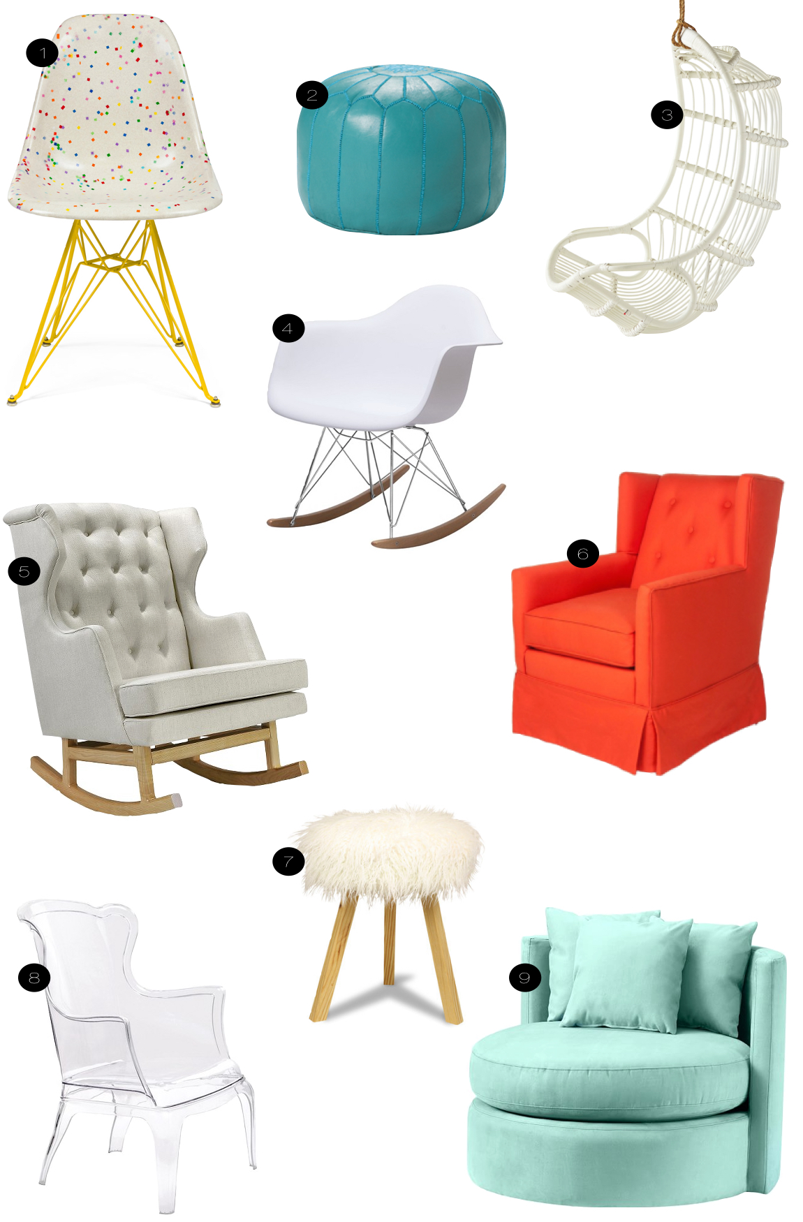 chairs for kids' rooms  |  kiki's list