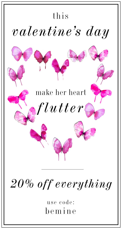 make her ♥ flutter  |  krista salmon