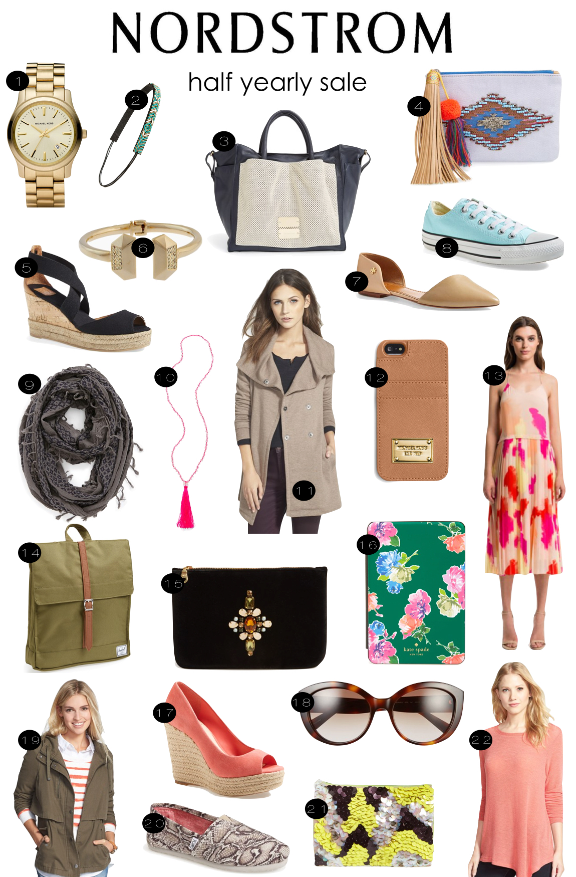 Nordstrom Half Yearly Sale  |  Kiki's List