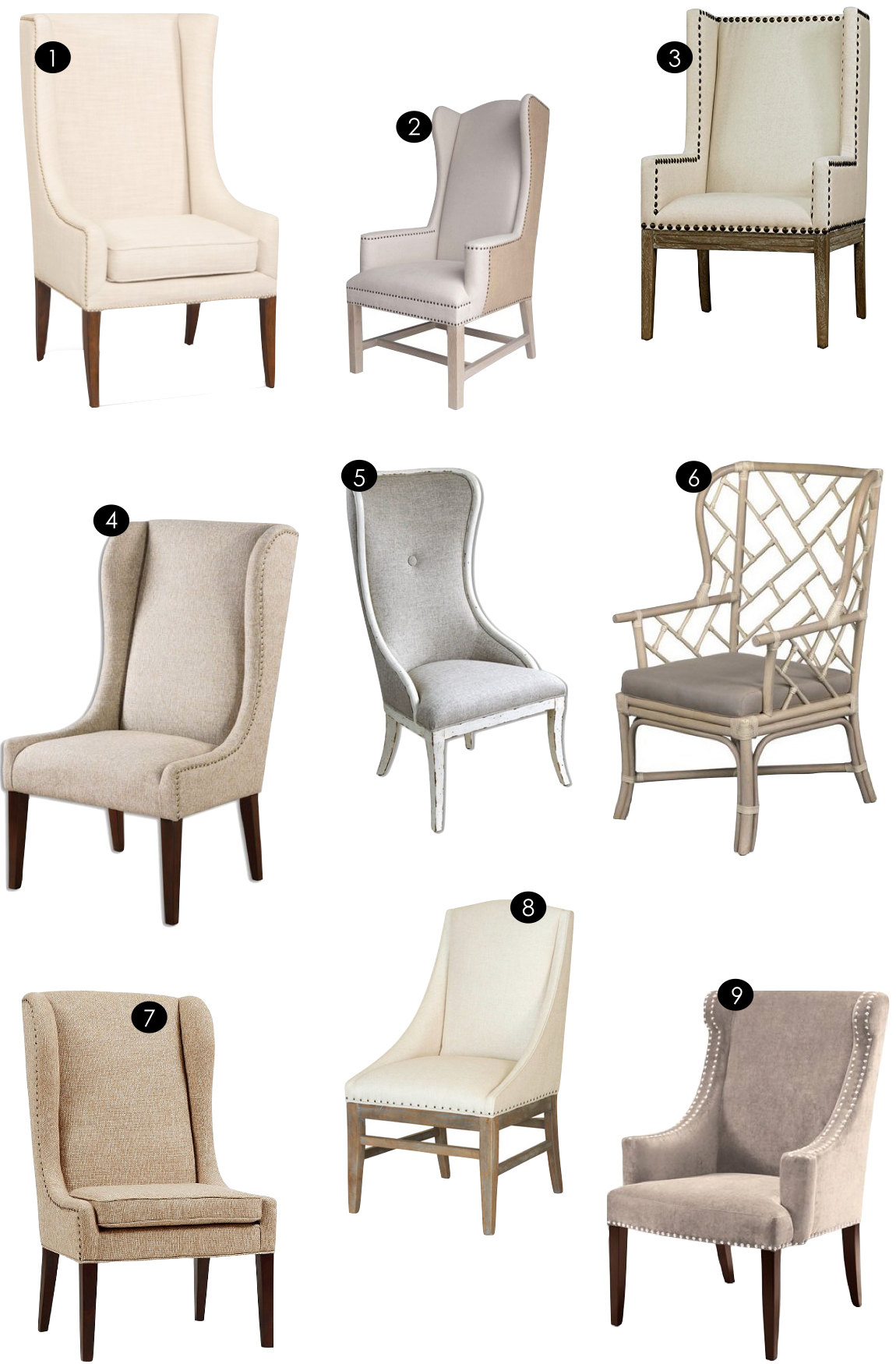 Host + Hostess Chairs  |  Kiki's List