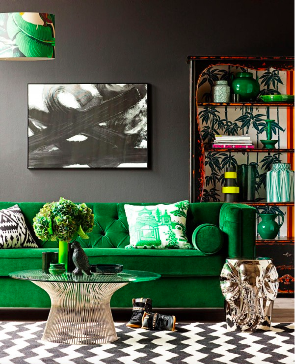 The Green Sofa | Kiki's List.