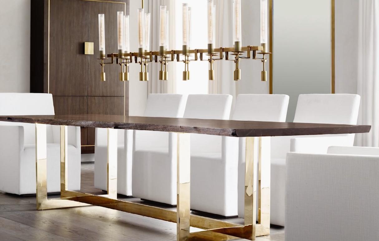 RH Modern Kikis List - Rh modern dining table