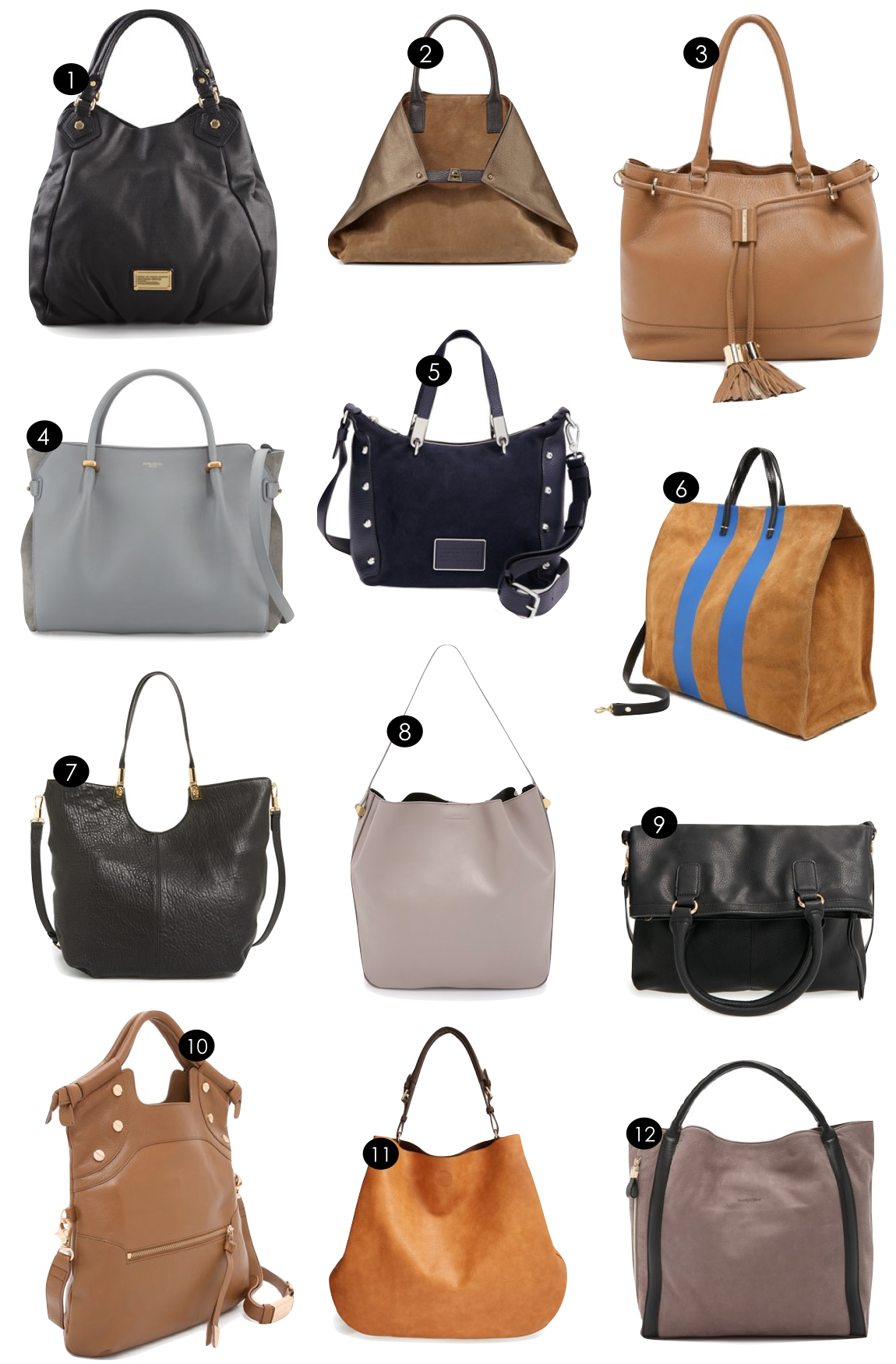 Fall Handbags  |  Kiki's List
