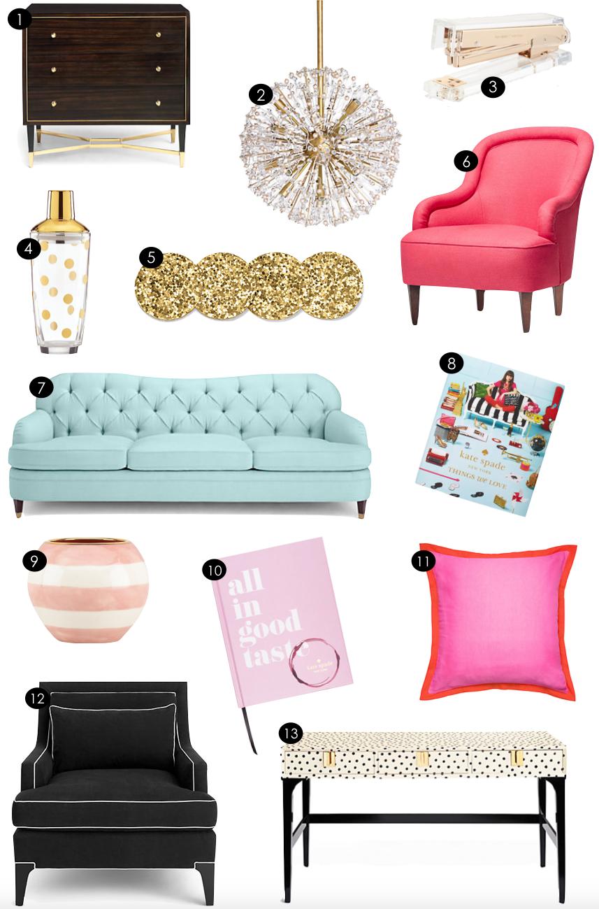Kate Spade Home | Kiki's List