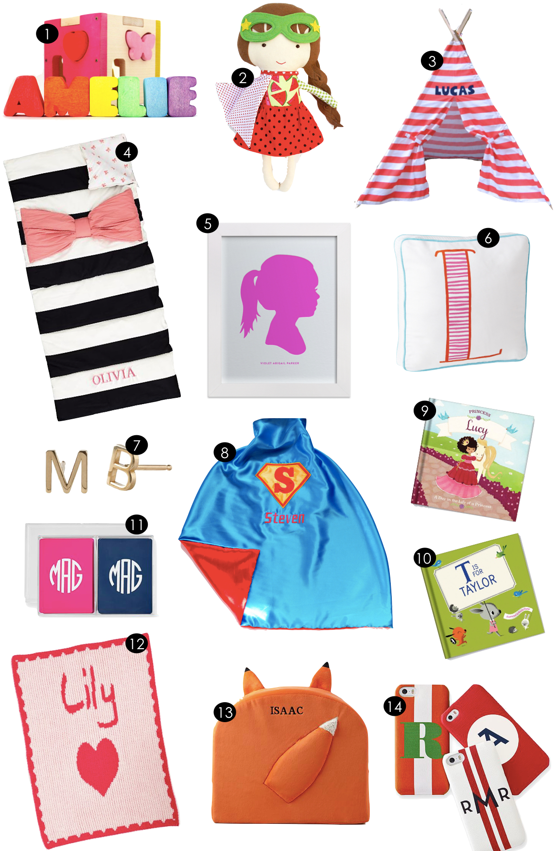 Personalized Gifts for Kids  |  Kiki's List