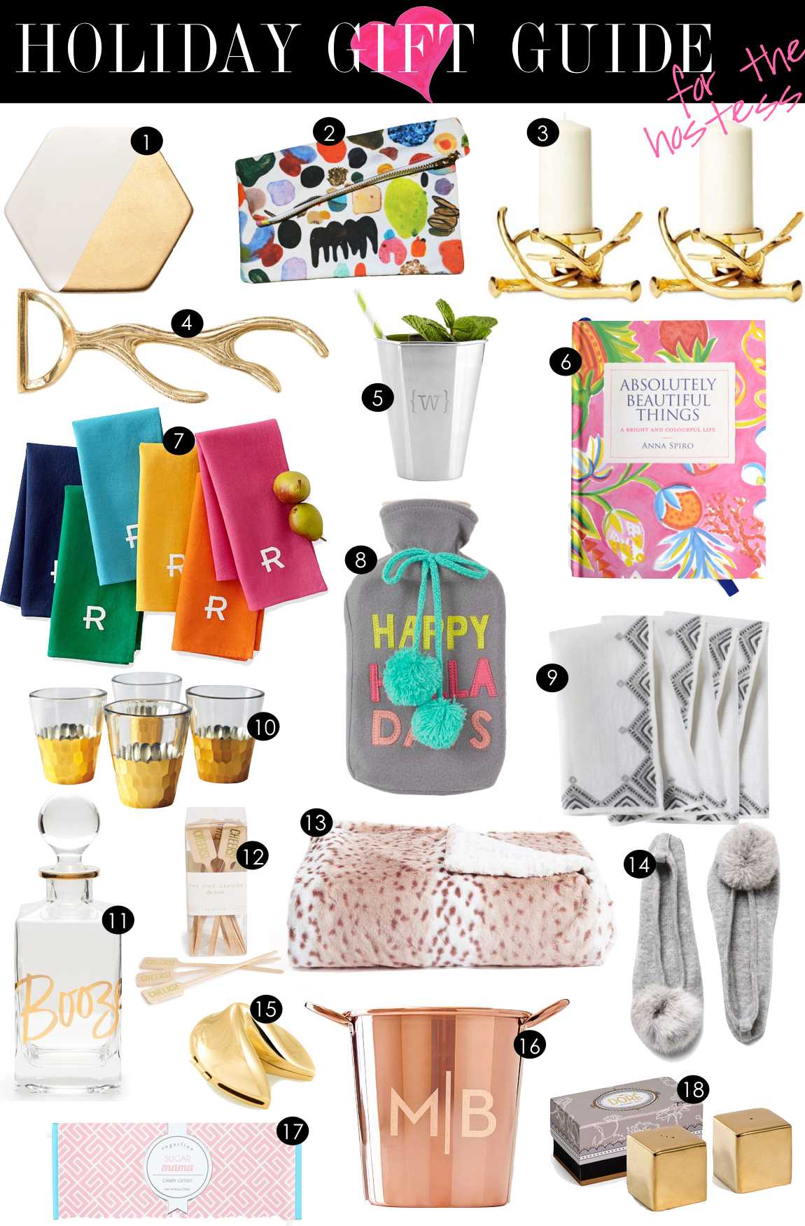 Holiday Gift Guide for the Hostess | Kiki's List