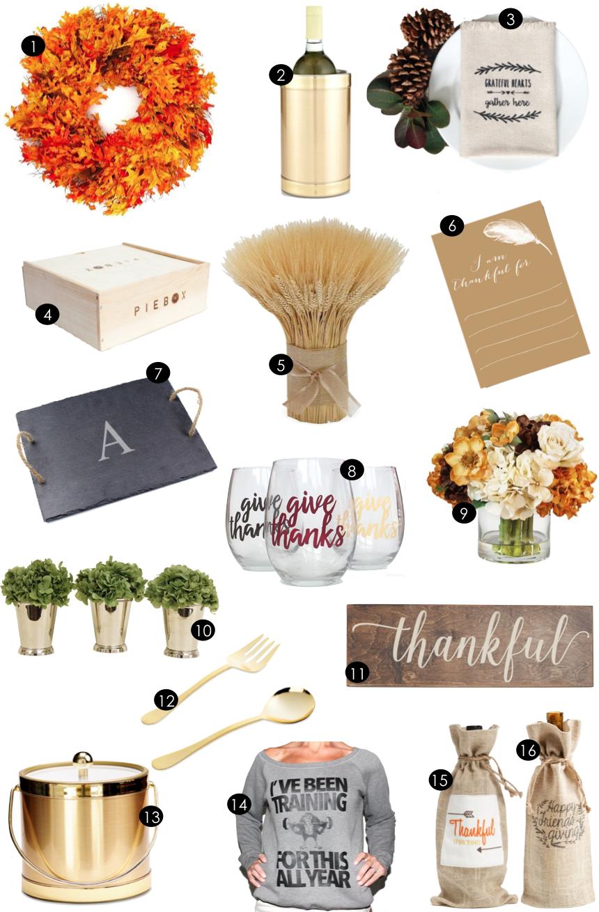 Thanksgiving | Kiki's List