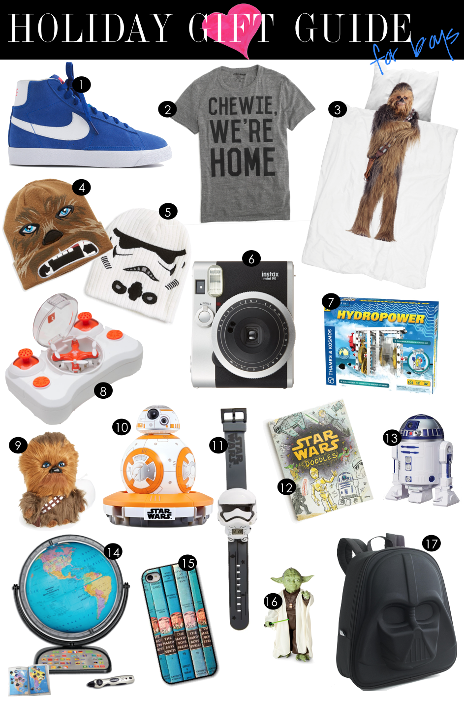 Holiday Gift Guide for Boys | Kiki's List