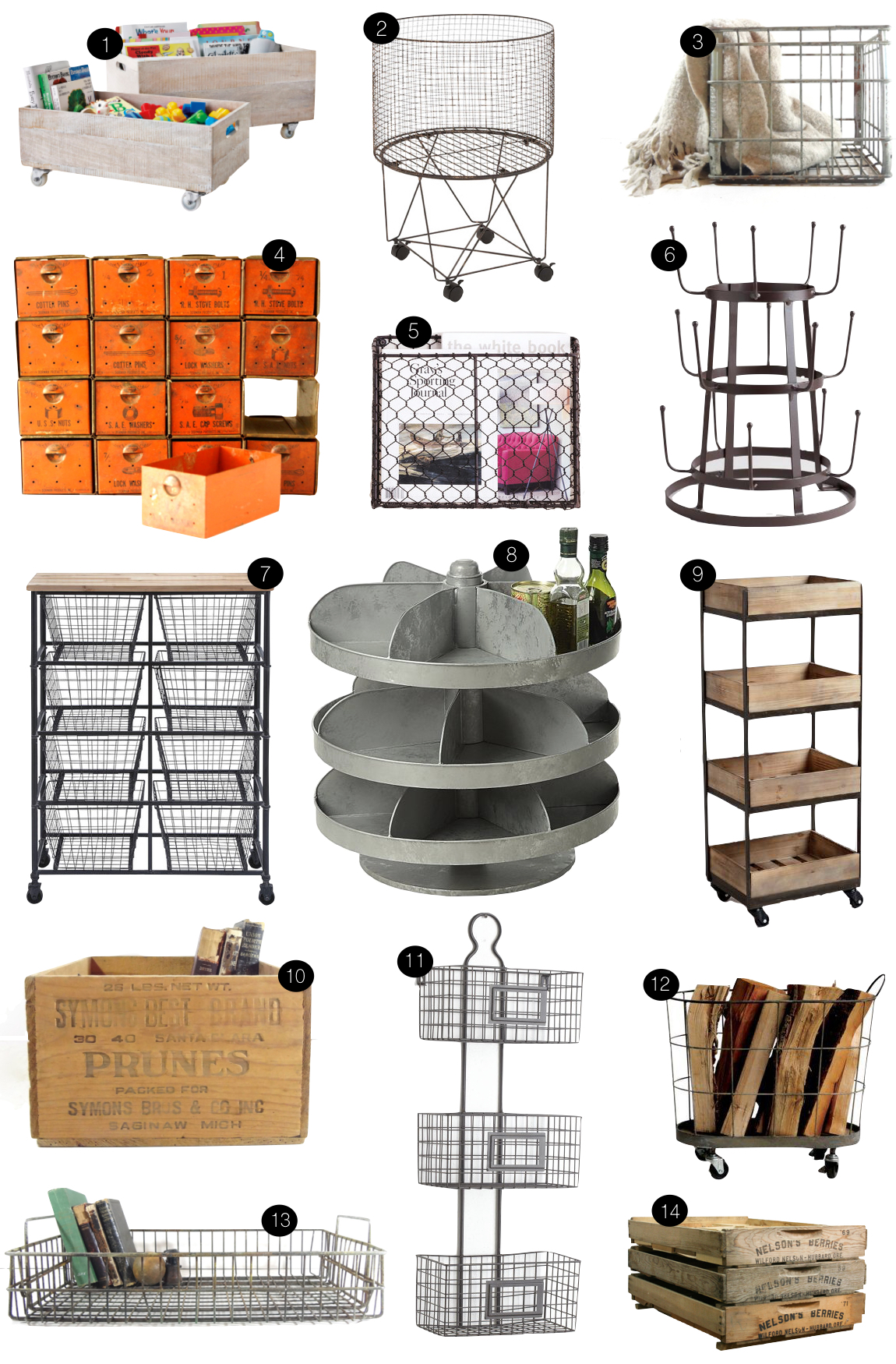 Industrial Storage  |  Kiki's List
