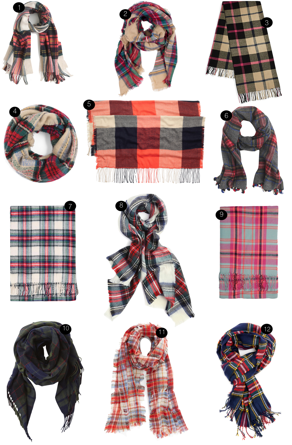 Plaid Scarves  |  Kiki's List