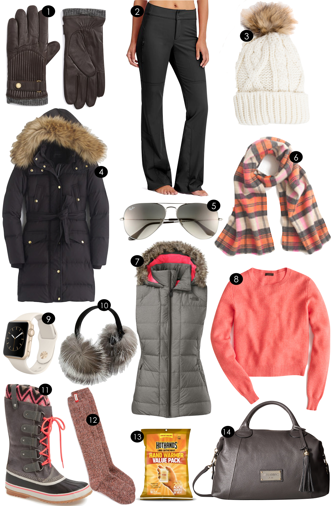 Cold Weather Gear  |  Kiki's List