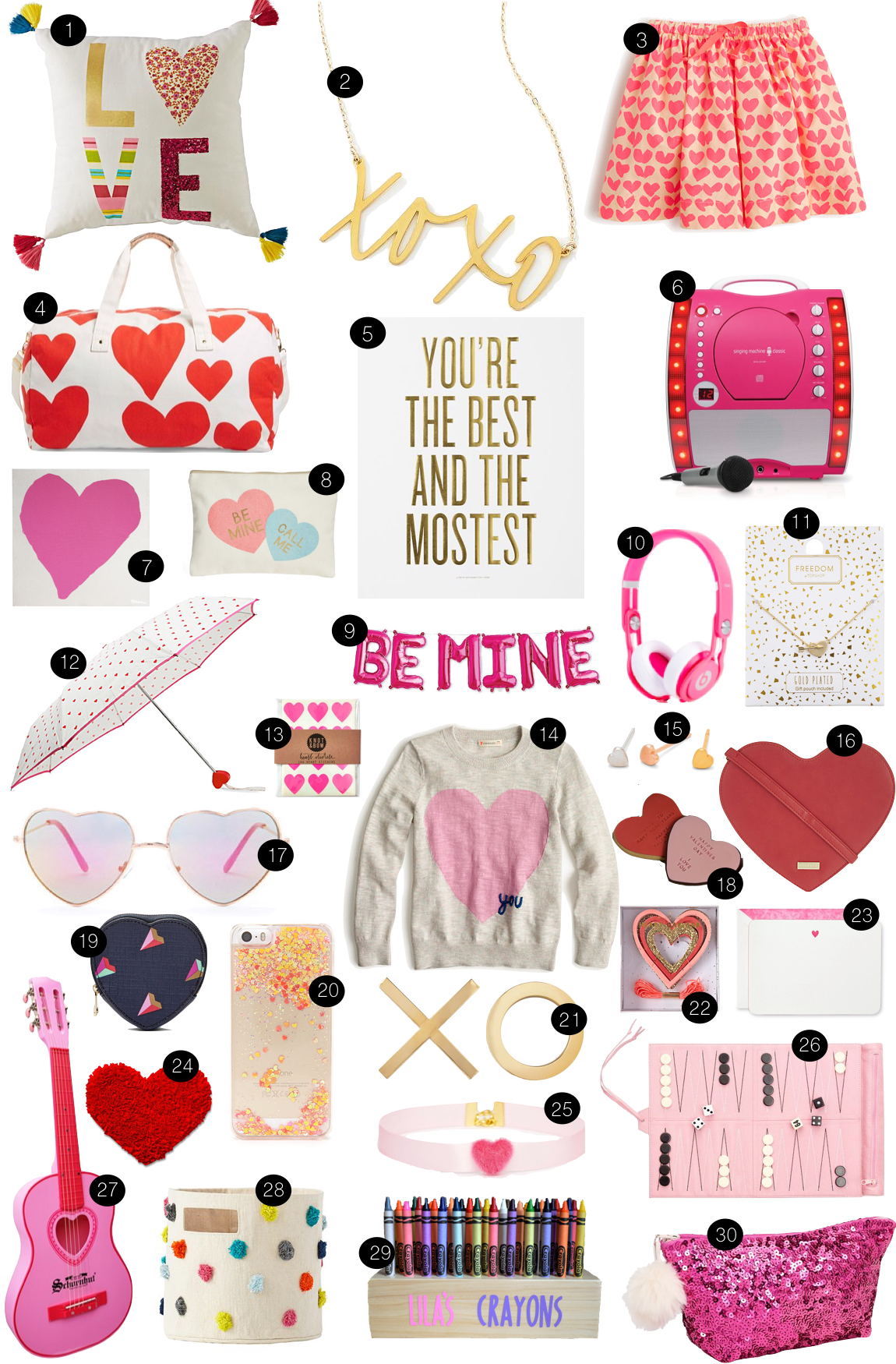 Little Hearts  |  Kiki's List