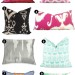 Pretty Printed Pillows.